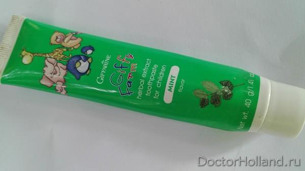 безопасная детская зубная паста из Таиланда