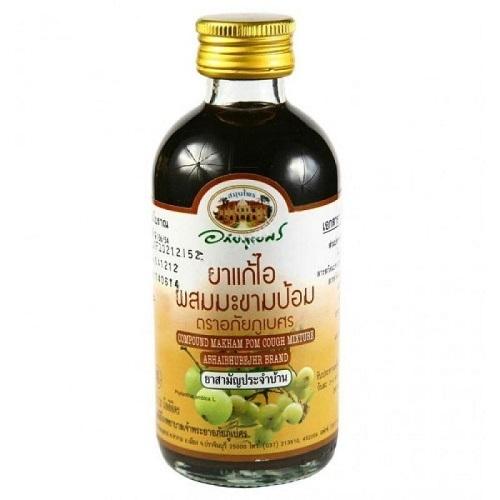 Про натуральный растительный тайский сироп от кашля с эмбликой